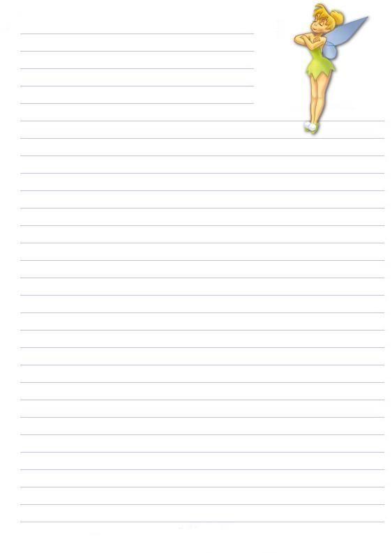 Papier a lettre - Lettre disney ...