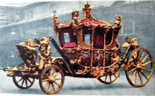 Hästdragen vagn i äldre tid
