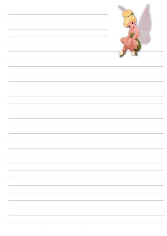 Papier a lettre page 2 - Lettre disney ...